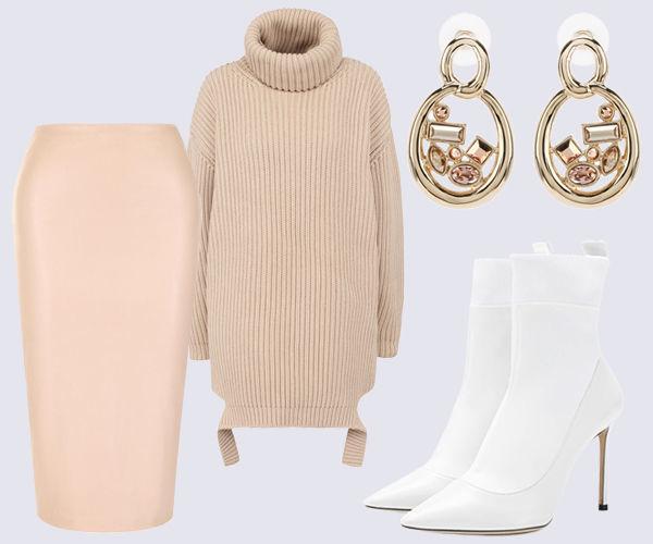 Элегантная юбка-карандаш: 7 красивых модных образа 2019 рекомендации