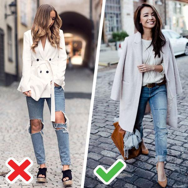 Фото красивые девушки в серых узких джинсах — photo 3