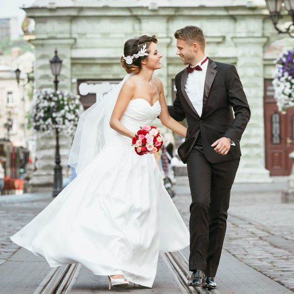bea287aae9ecbb7 Идеальная пара: как выбрать свадебное платье и мужской костюм ...