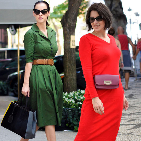 Фасоны платьев для женщин 40+. Правила выбора - Я Покупаю 48b417d493f