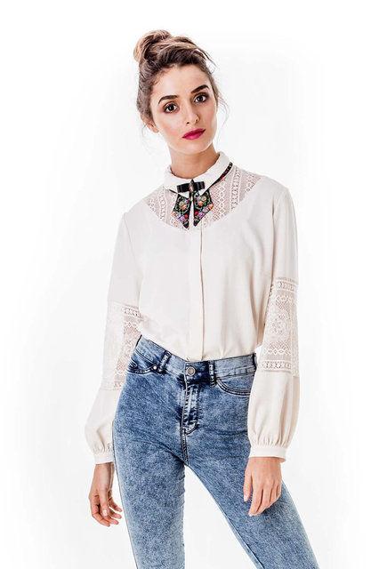 53821baf1aa Купить Элегантная блузка Рори с кружевными вставками в Санкт-Петербурге - Я  Покупаю