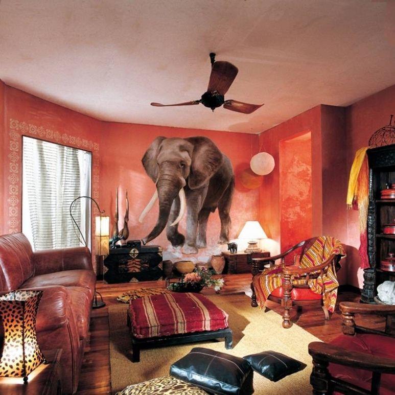 Африканский интерьер в картинках